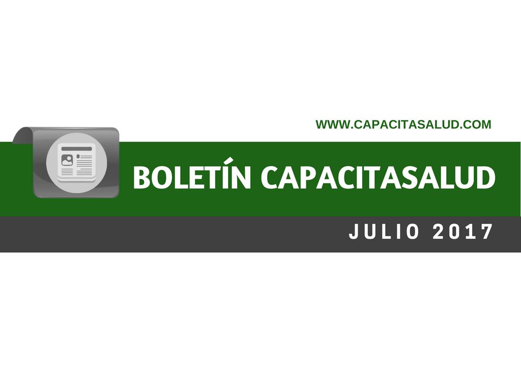 Novedades Julio ::Boletín Capacitasalud::